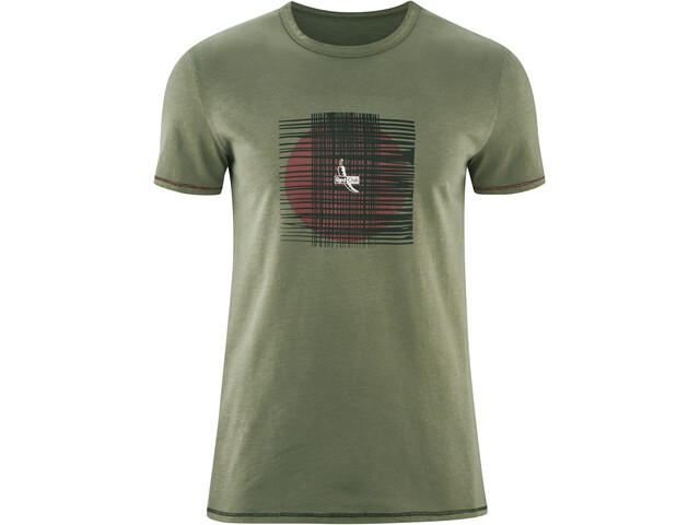 Red Chili Satori Camiseta Hombre, alga green